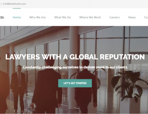 Law Website Demo